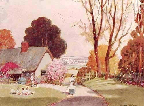Bauernhaus by Ernest Uden