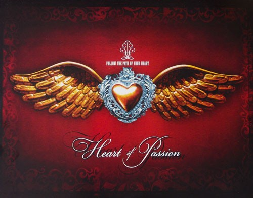Wings of Passion / Flügel Poster 40x50 cm