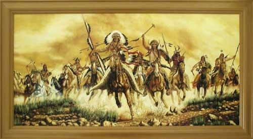 Indianer, Colours of War by Vogtschmidt