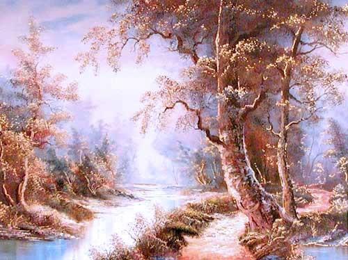 Landschaft by Cafieri