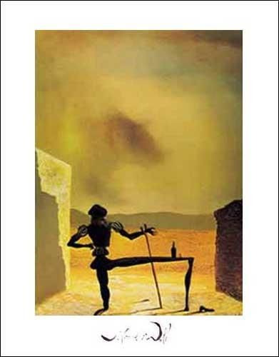 Kunstdruck 40x50 cm: Lo Spettro di Vermeer, Dali Salvador
