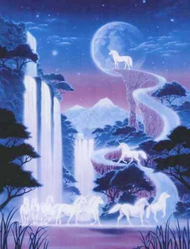 Einhorn Wasserfälle Bild