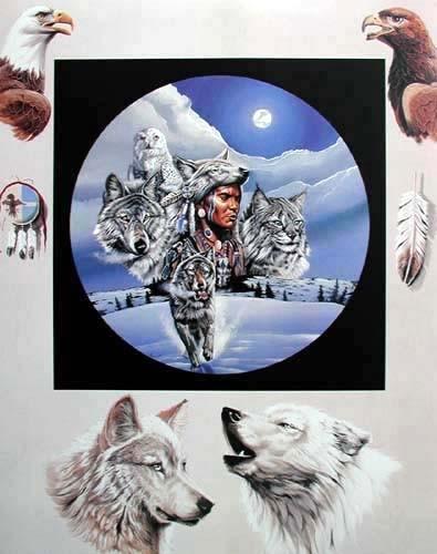 Moonlit Warrior by Gary Ampel *