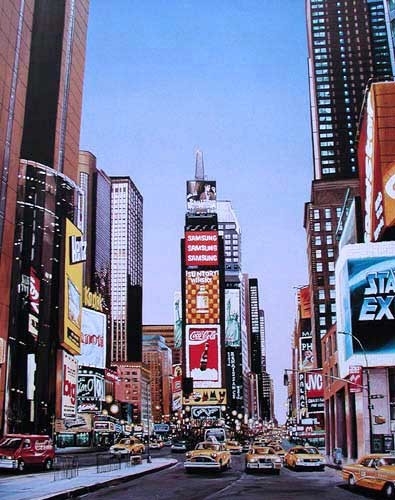 New York Times Square Poster