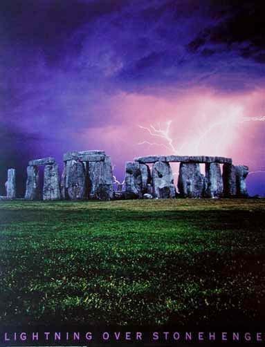 Lightning Over Stonehenge