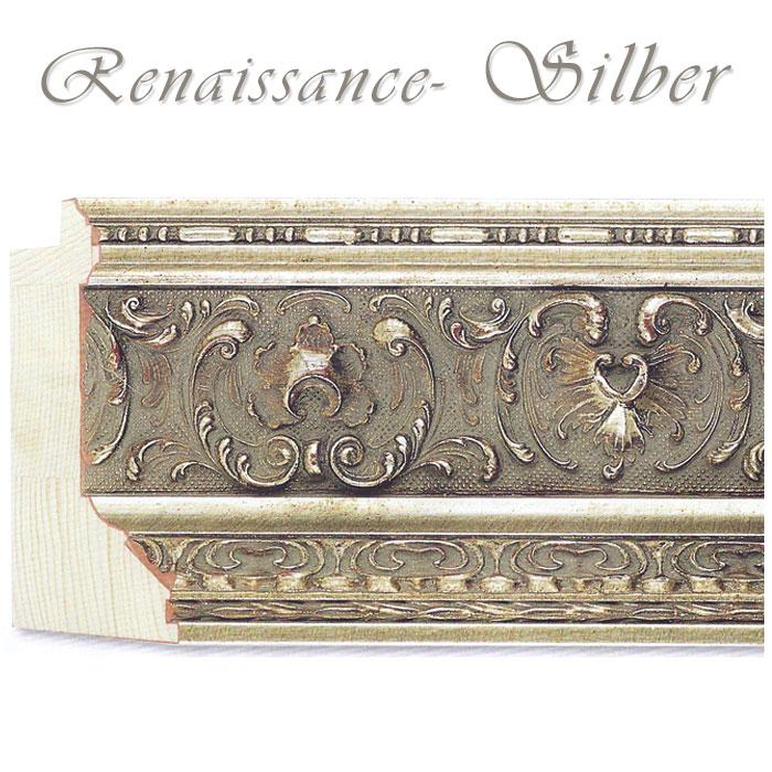 exklusiver stilrahmen 50 x 70 cm profilbreite 10 2 cm in silber. Black Bedroom Furniture Sets. Home Design Ideas