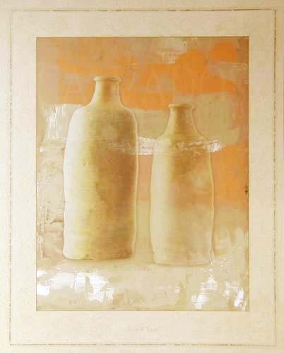 Two Bottles by Lens & Lens *
