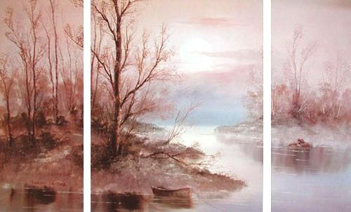 Am Fluß by Philip Sandez