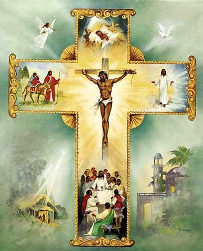 Jesus, Living Cross