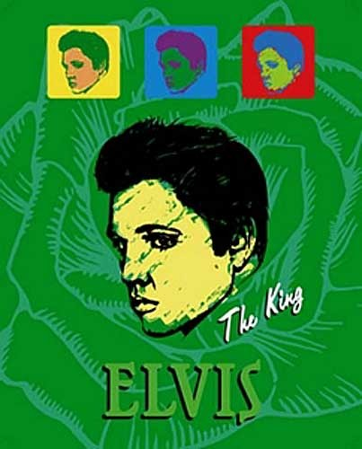 Pop Art Elvis Poster