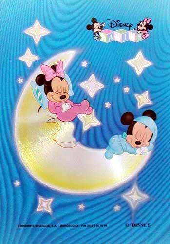 Micky, Mini Maus Postkarte