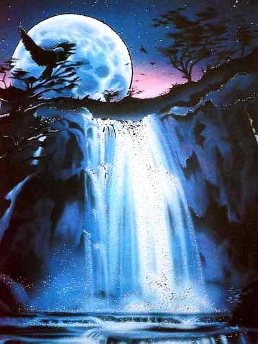 Adler & Wasserfall