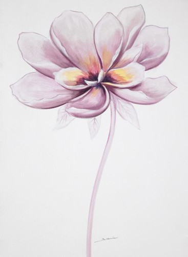 Pastell Blume Poster