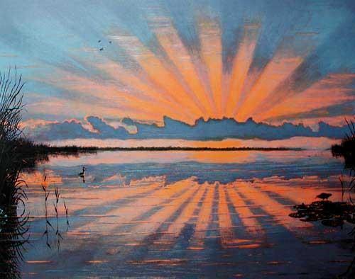 Sonnenuntergang by A. Quint