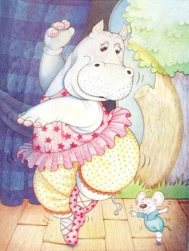 Hippo- Ballerina