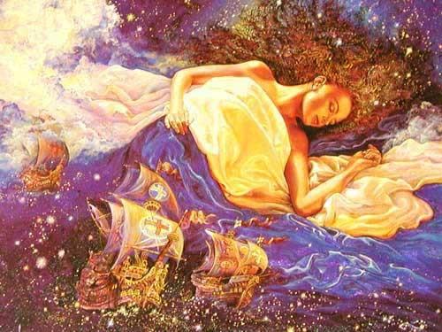 Träume Alubild