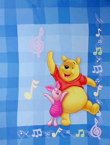 """Poster 40x50 cm: Winnie the Pooh """"Sing a Song"""""""