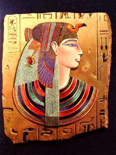 Königin Nefertari, Nefertiti Alu Bild