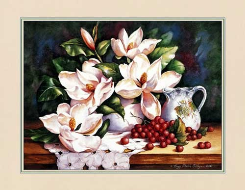 Blumen, Magnolien