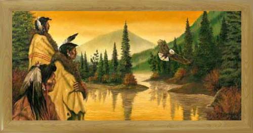Indianer, Adler von J.T. Vogtschmidt