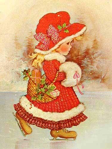 Mädchen im Winter by Sarah Kay
