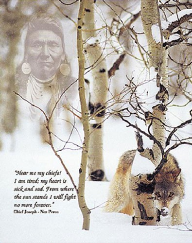 Chief Josef`s Prayer