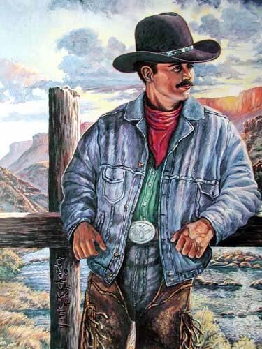 Cowboy by Jonnie Kostoff