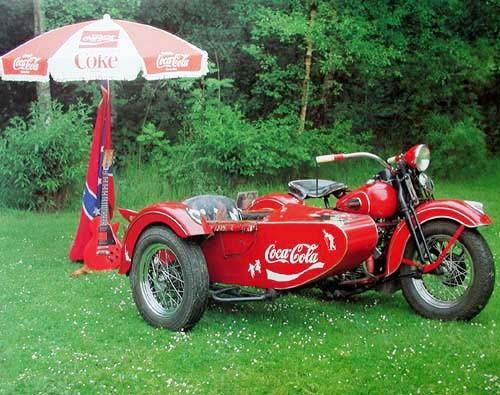 Harley Davidson, Coca-Cola