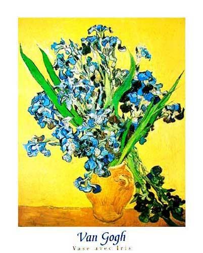 Vase Avec Iris *