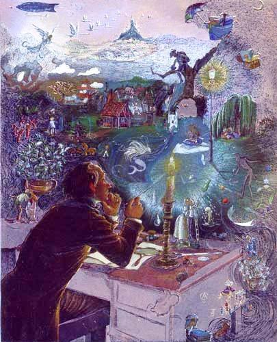 Hans Andersen`s Dreams, Johnstone Alu Bild