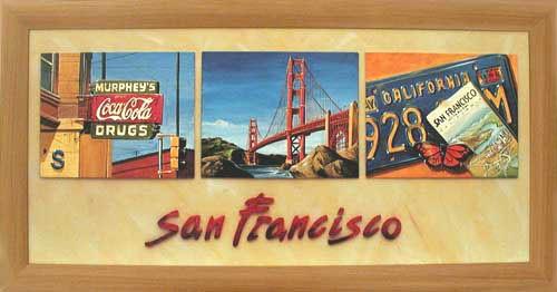San Francisco Wandbild