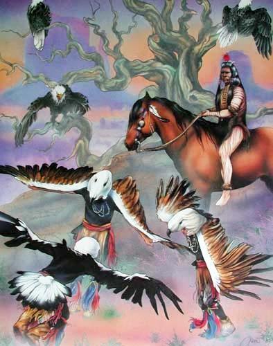 Eagle Dance by Dan Mc Manis