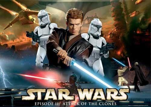 Star Wars, Angriff der Klonkrieger Poster