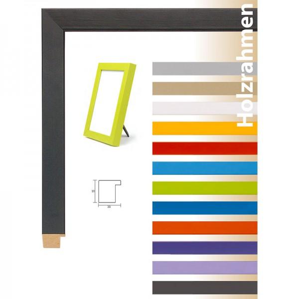 Bunte Holz-Bilderrahmen im Bauhaus-Stil Top Cube 20