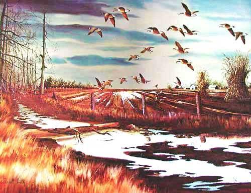 Harvest Flight by Darrel Smith