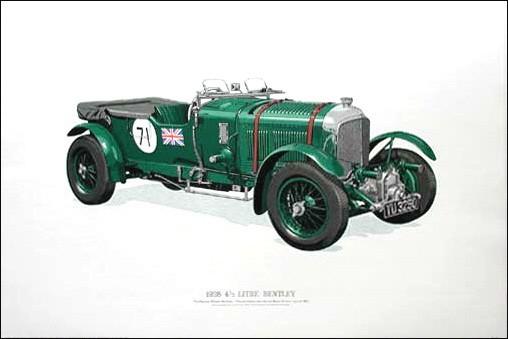1928 4 1/2 Litre Bentley (Limitierte Auflage)