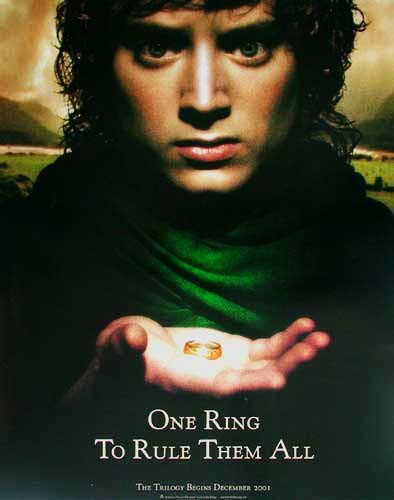 Der Herr der Ringe Poster 40x50