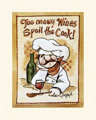 Too Many Wines Spoil the Cook!