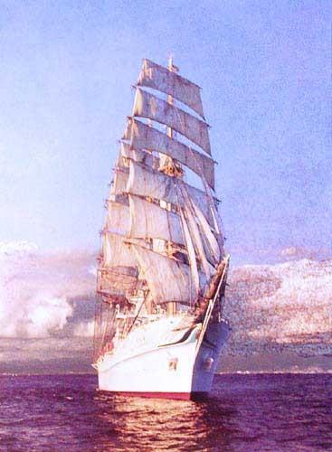 Segelschiff Kaiwo Maru Bild