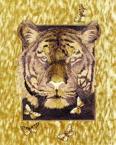 Tiger, gold