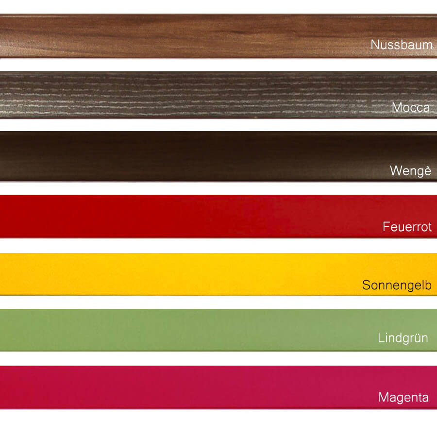 bilderrahmen 80x100 100x80 cm aquarell in vielen farben. Black Bedroom Furniture Sets. Home Design Ideas