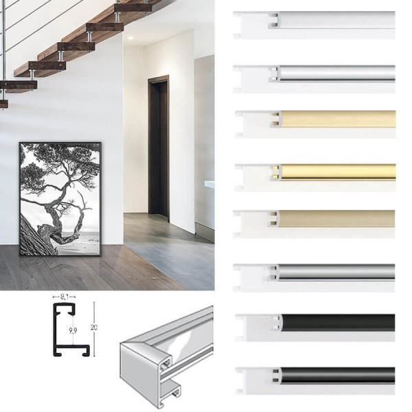 Nielsen Alu-Bilderrahmen 60 x 70 cm Profil Nr. 8