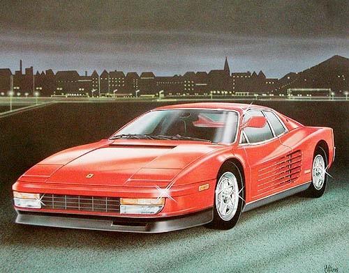 Ferrari by H. Villieres