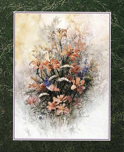 Lilien von Chiu Kunstdruck
