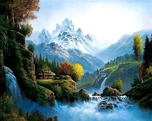 The Valley of Mt. Sorak