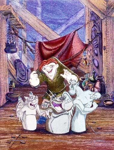 Quasimodo Postkarte