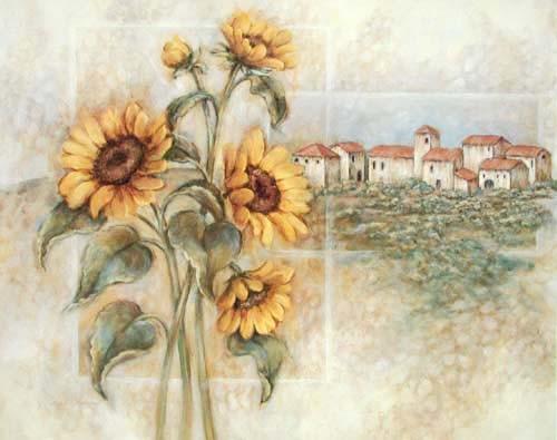 Sonnenblumen in Toskana by Judi Kaufman *