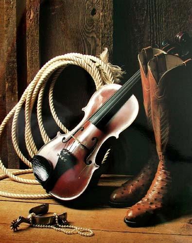 Violin & Boots