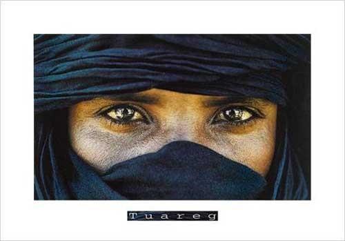 Tuareg - Maitre Pascal Kunstdruck 70x100 cm