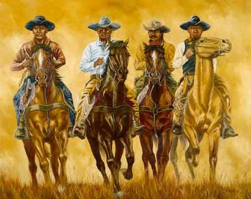 Cowboys by Yanozha
